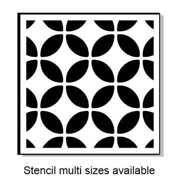 Broken Circle StencilMulti sizes Available min buy 3.